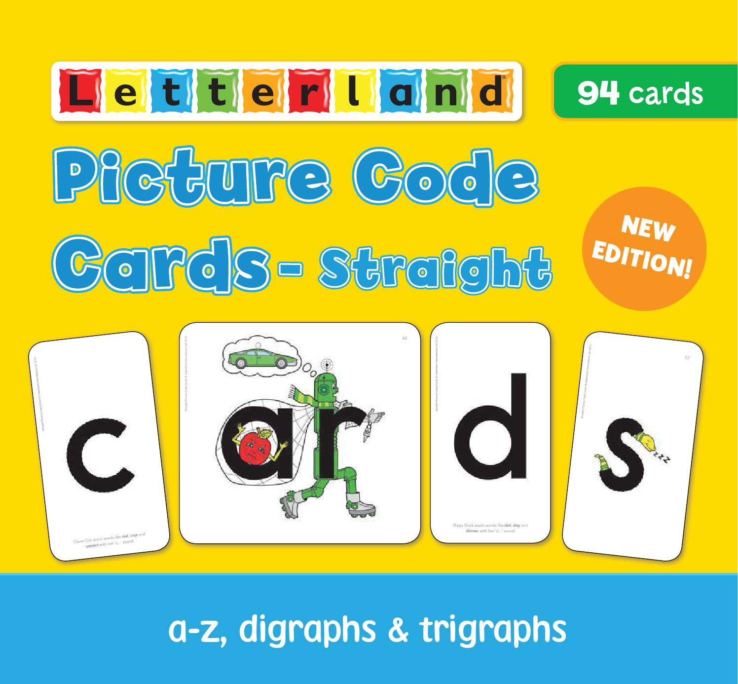 Picture Code Cards Straight By Letterland Issuu