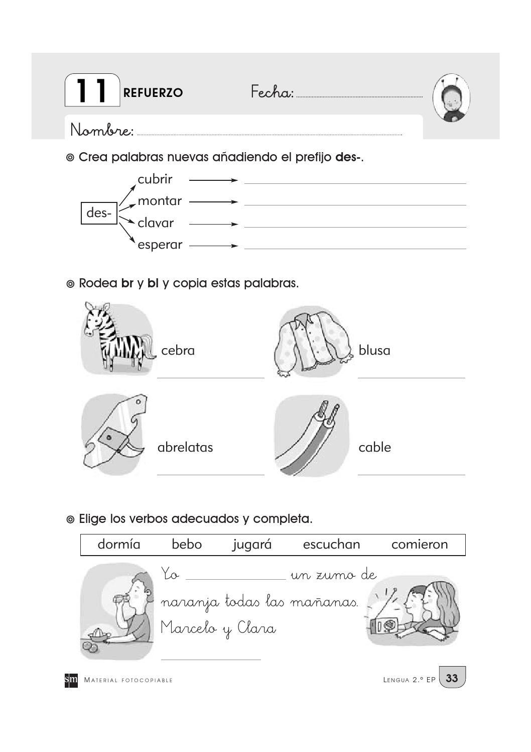 Cuaderno repaso 2º primaria by Rocio Blanco (page 1) - issuu