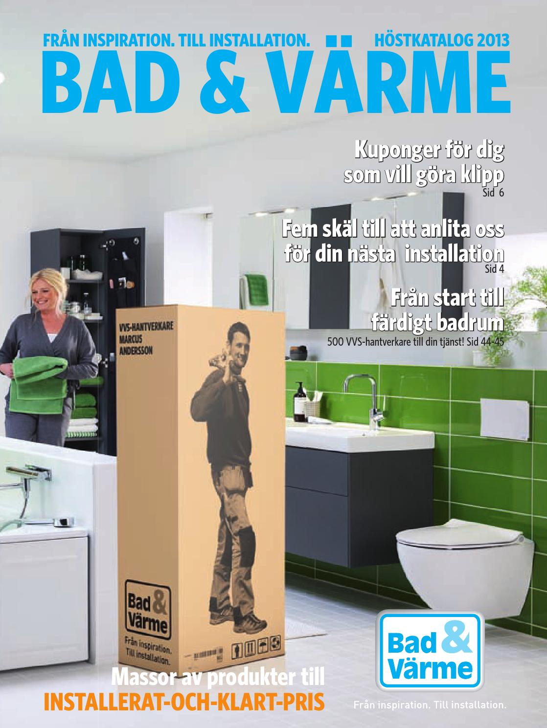Bad & värme katalog våren 2011 by sirimari   issuu