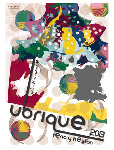 Programa Feria y Fiestas de Ubrique 2013