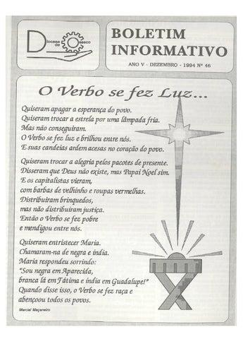 [Bio Diocesano Dezembro 1994]