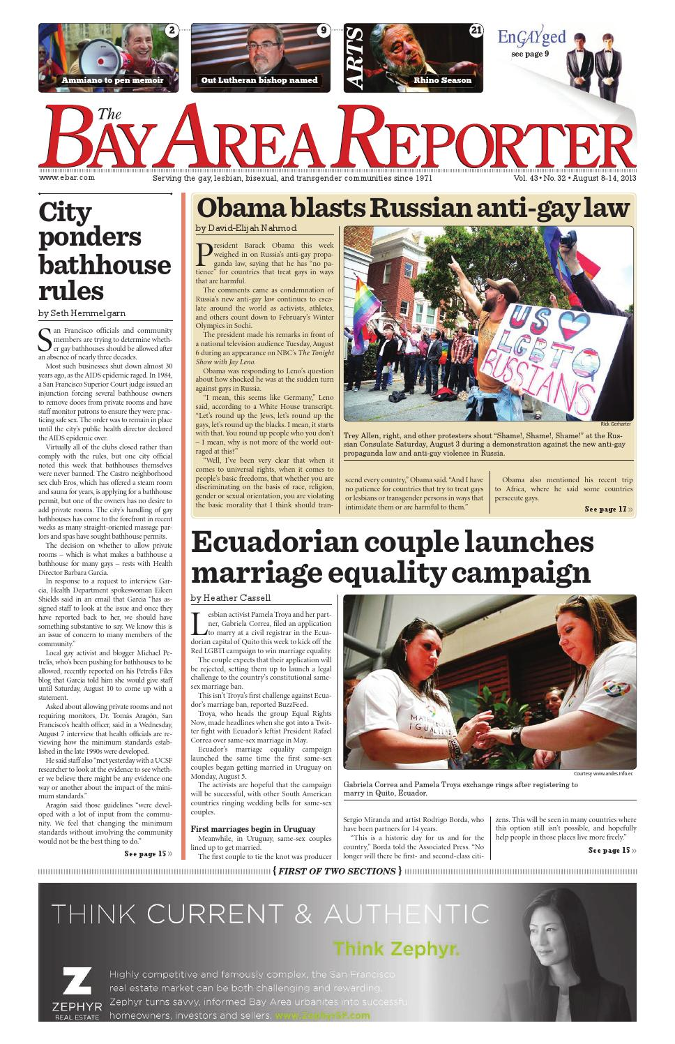 Bay Area Reporter : August by bay area reporter issuu