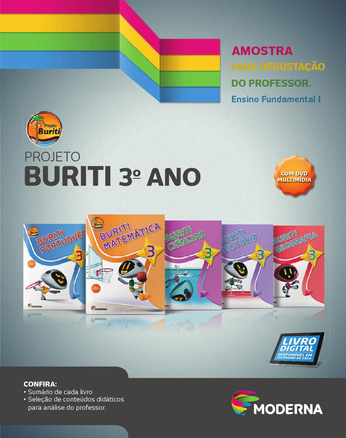 Projeto Buriti - 3º ano by Editora Moderna - issuu