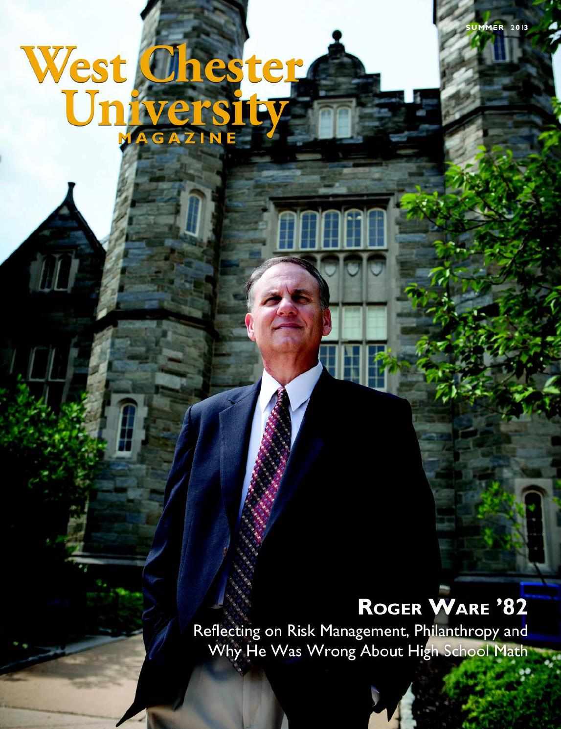 west chester university magazine summer by west chester west chester university magazine summer 2013 by west chester university issuu
