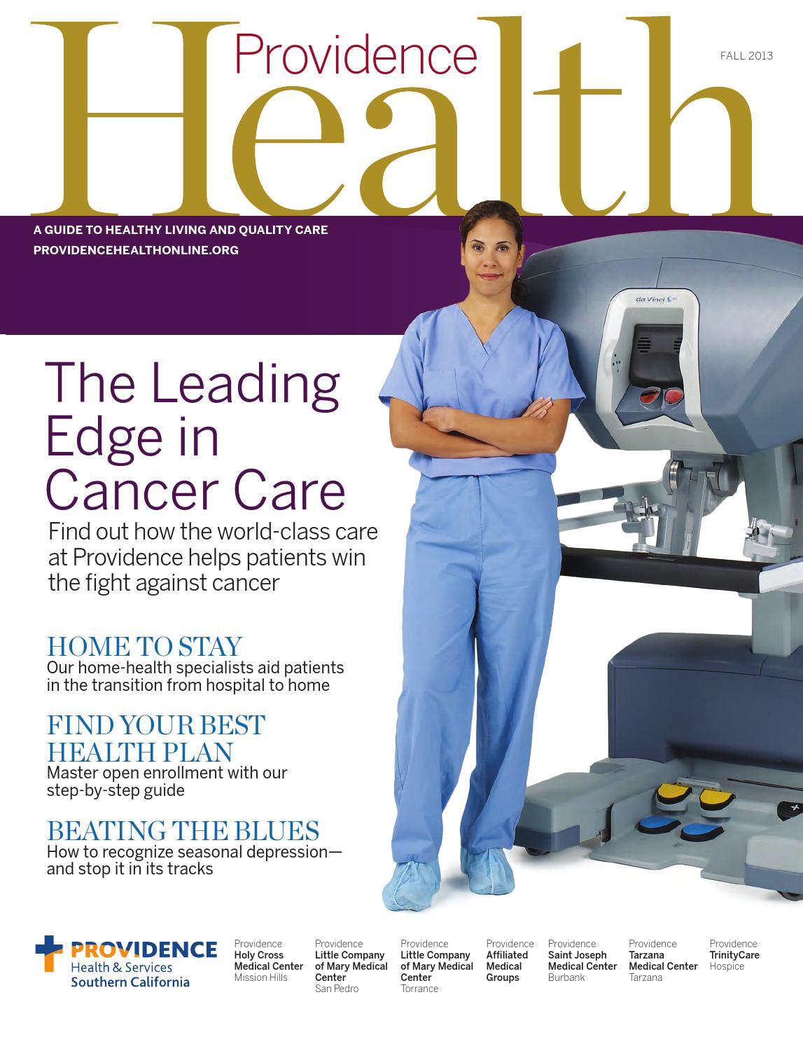 providence health magazine spring by providence health providence health fall 2013