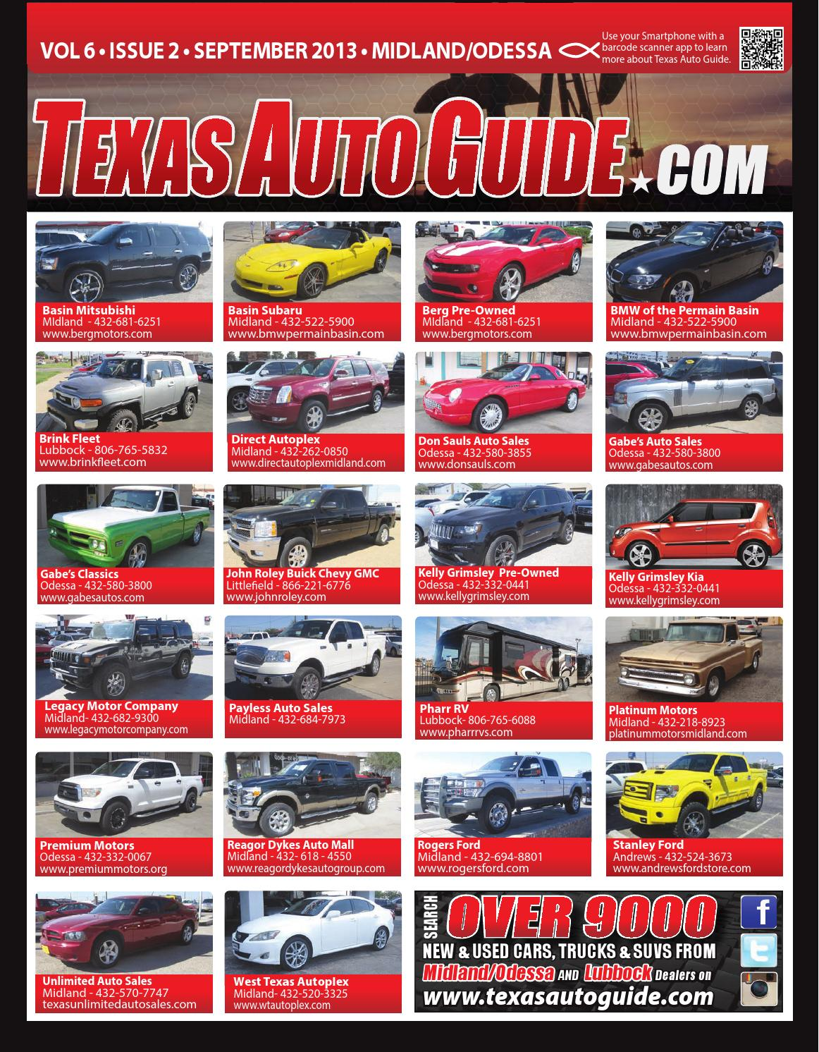 texas auto guide midland odessa by texas auto guide texas auto guide midland odessa 2013 by texas auto guide issuu