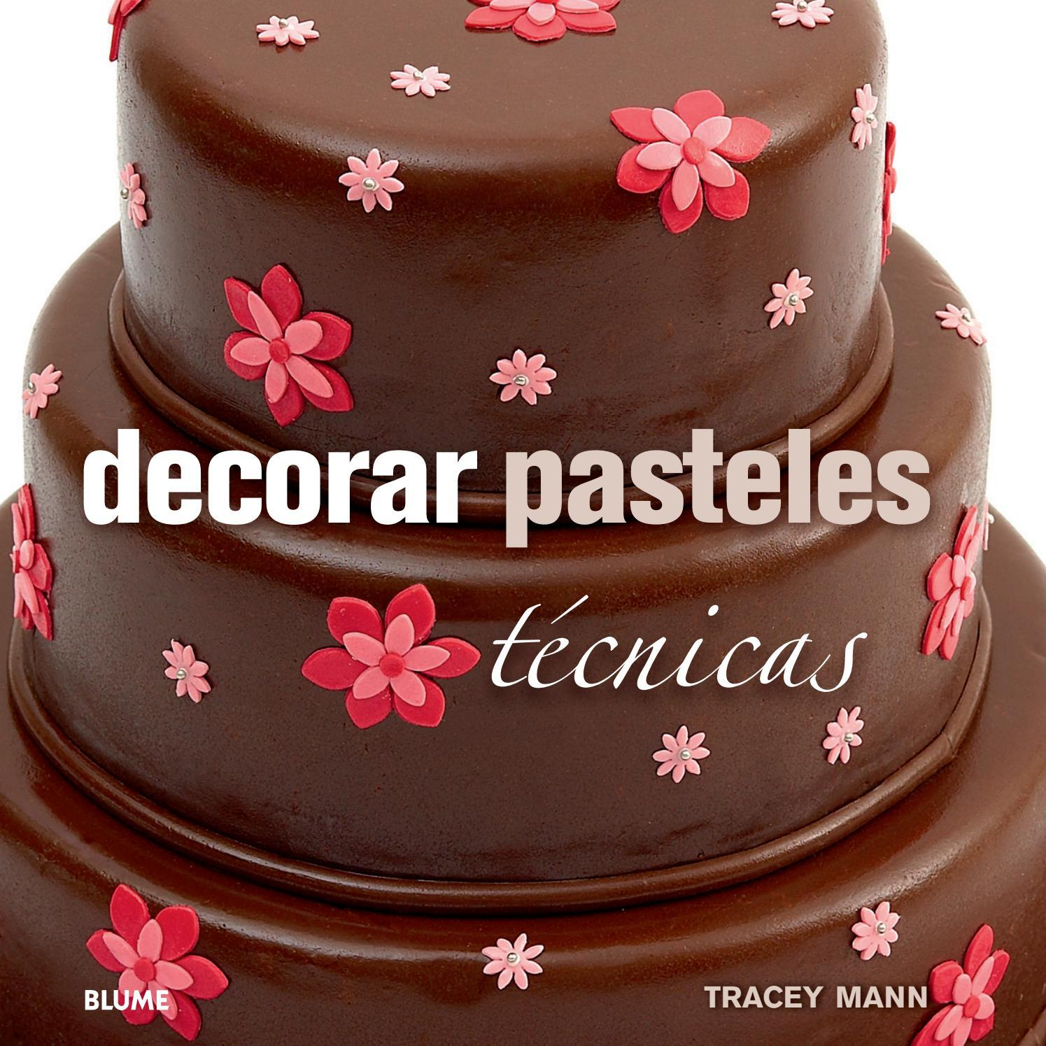 Decorar pasteles t cnicas by cristina rodriguez issuu for Imagenes de estanques decorados