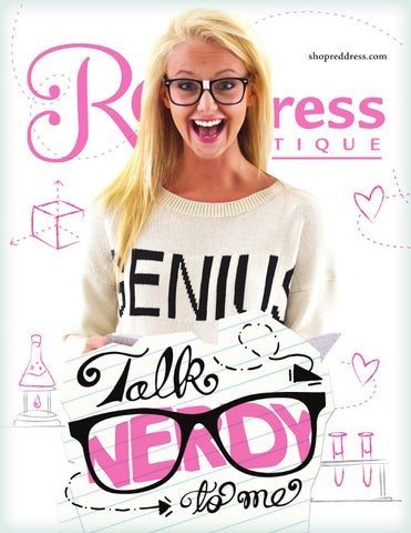 Talk Nerdy to Me -shopreddress.com