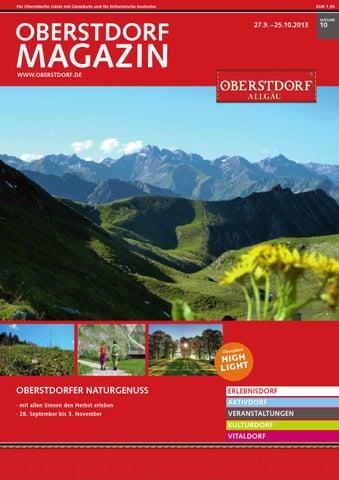 Oberstdorf Magazin 10/2013