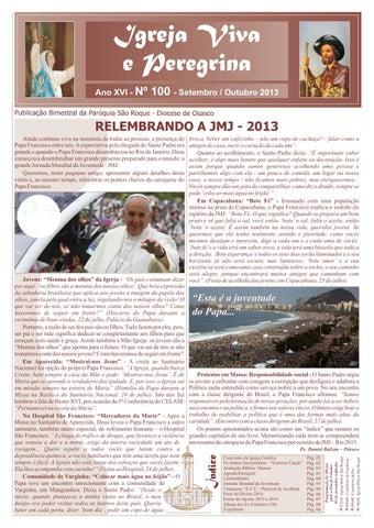 [Igreja Viva e Pelegrina – Setembro/Outubro 2013]