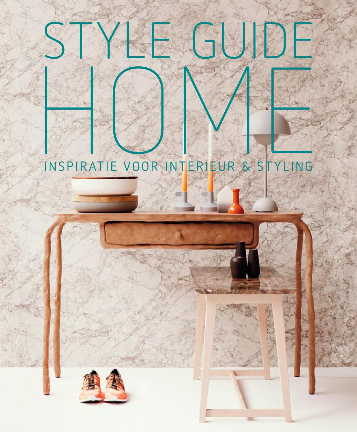 Style Guide Home 2014 - 2015 by Perscentrum Wonen - issuu