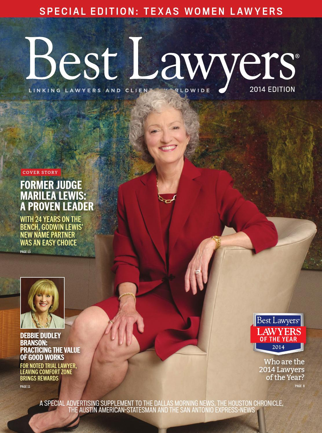 Texas Women Lawyers by Best Lawyers - issuu