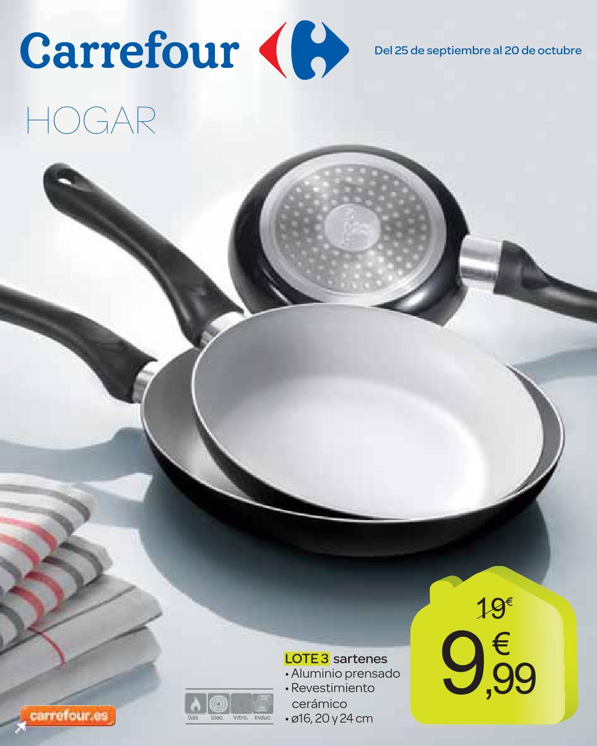 Cat logo ofertas para el hogar de carrefour by hackos ecc for Carrefour menaje cocina