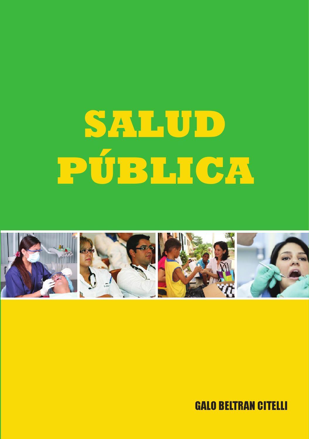Libro Salud Publica By Vi Era Issuu