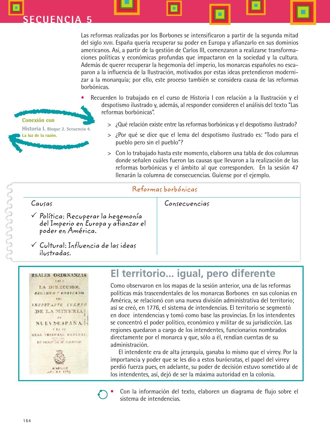 Historia 3 vol 1 by dgeb dgeb page 166 issuu - Reformas economicas en madrid ...