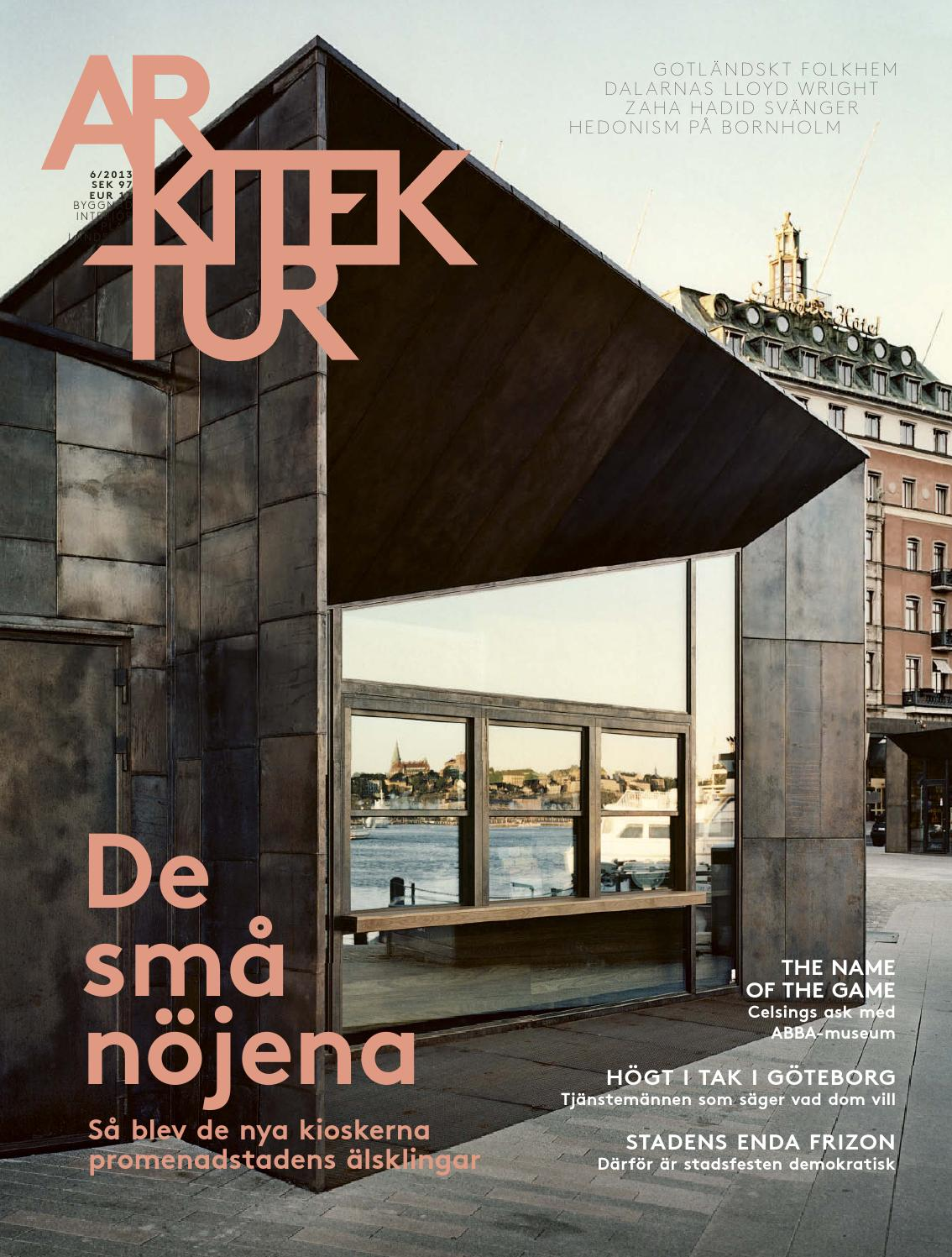 Arkitektur 6/2013 by arkitektur   issuu