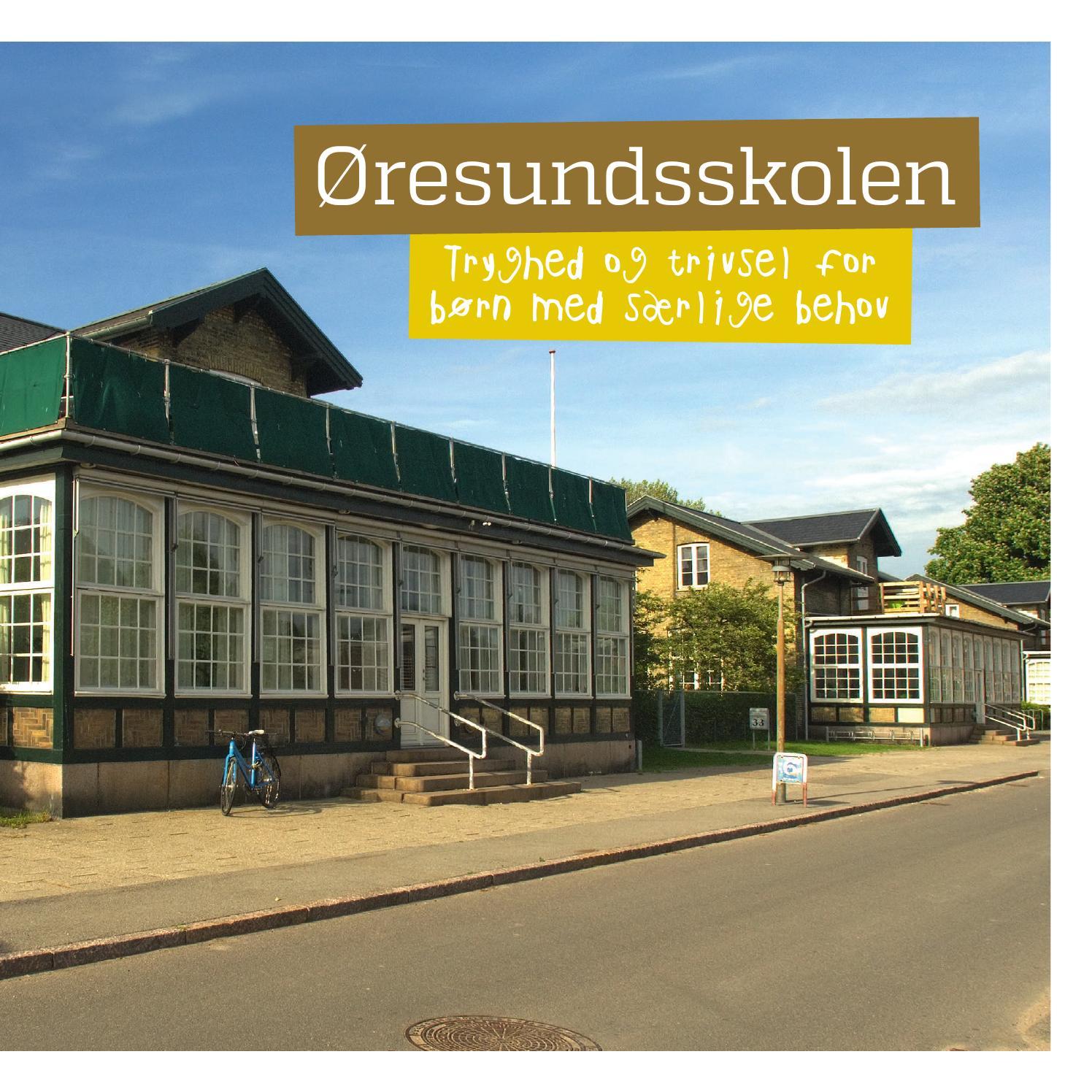 Øresundsskolen by ssoc   issuu