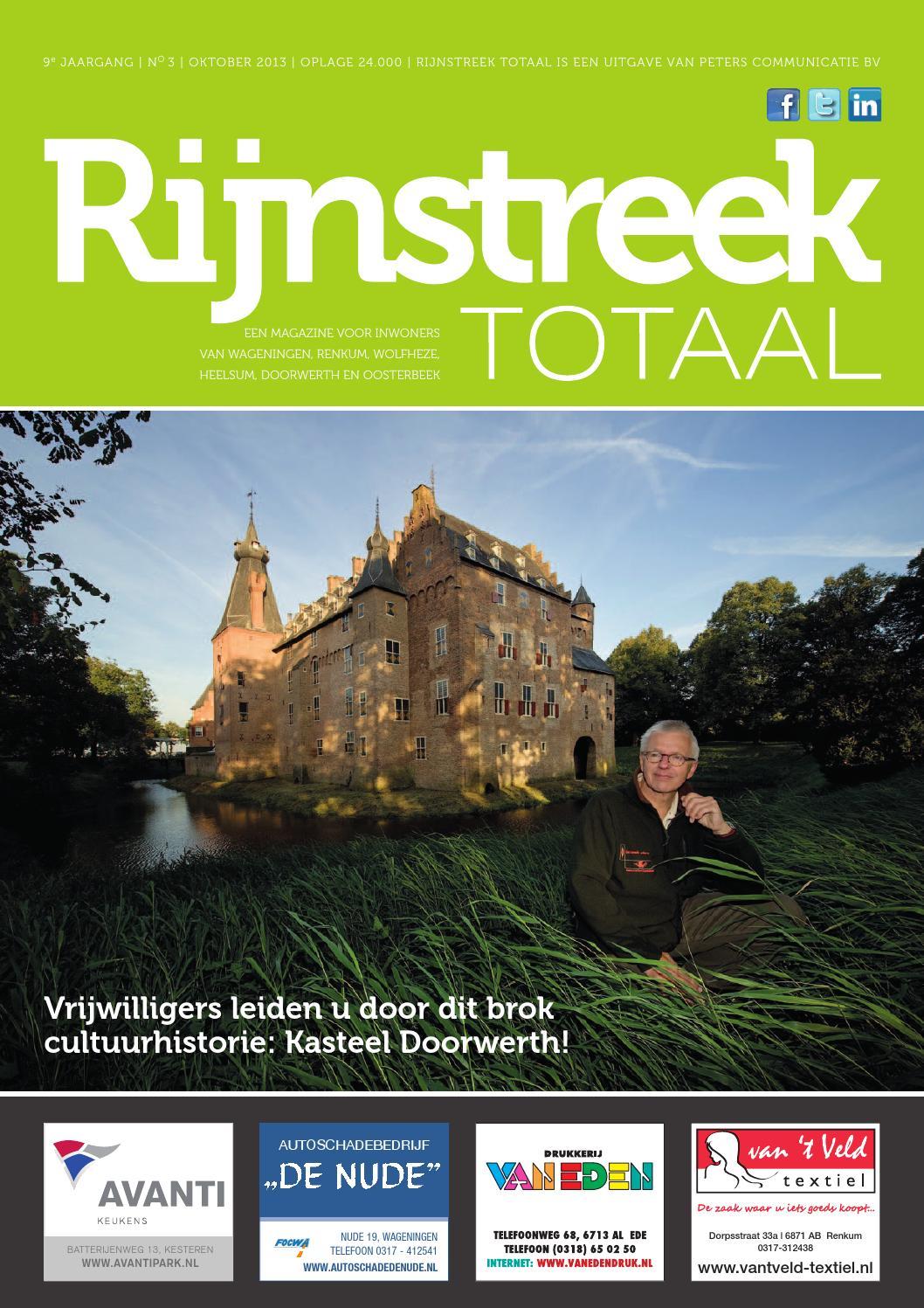 Rijnstreek totaal oktober 2013 online by Peters Communicatie - issuu