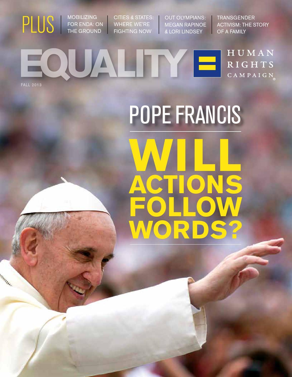 Equality Magazine Fall 2013 By Human Rights Campaign Issuu