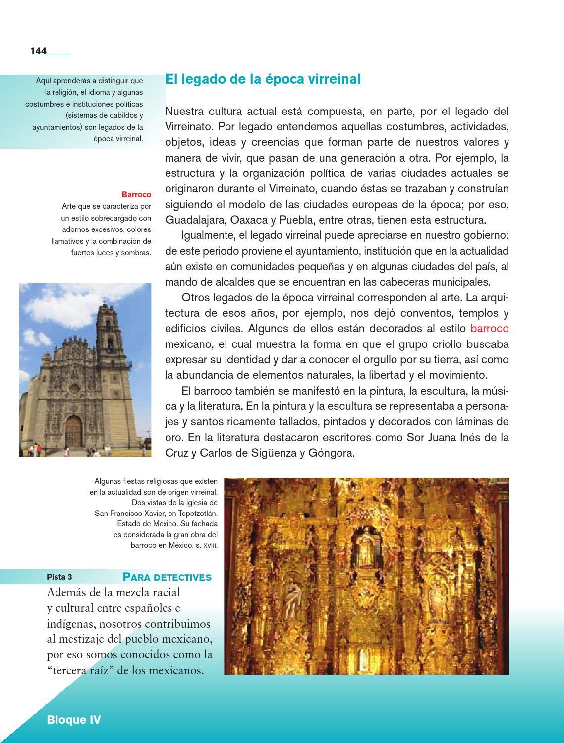 Historia 4o grado by rar muri page 146 issuu for Cual es el significado de arquitectura