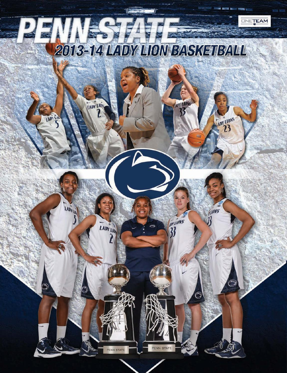 2013-14 Penn State Lady Lion Basketball Yearbook by Penn ...