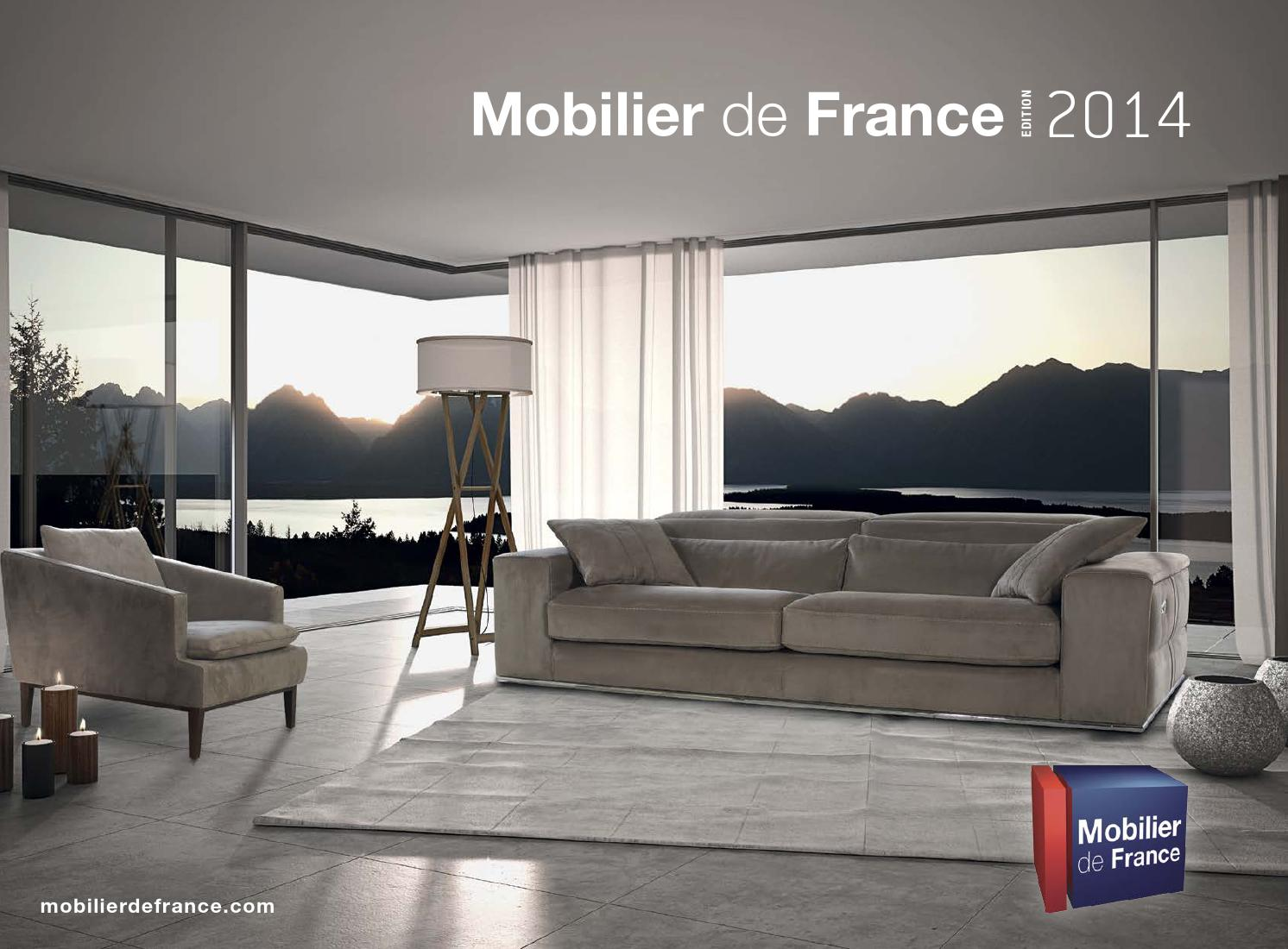 Catalogue mobilier de france 2014 by communication issuu for Mobilier de sejour