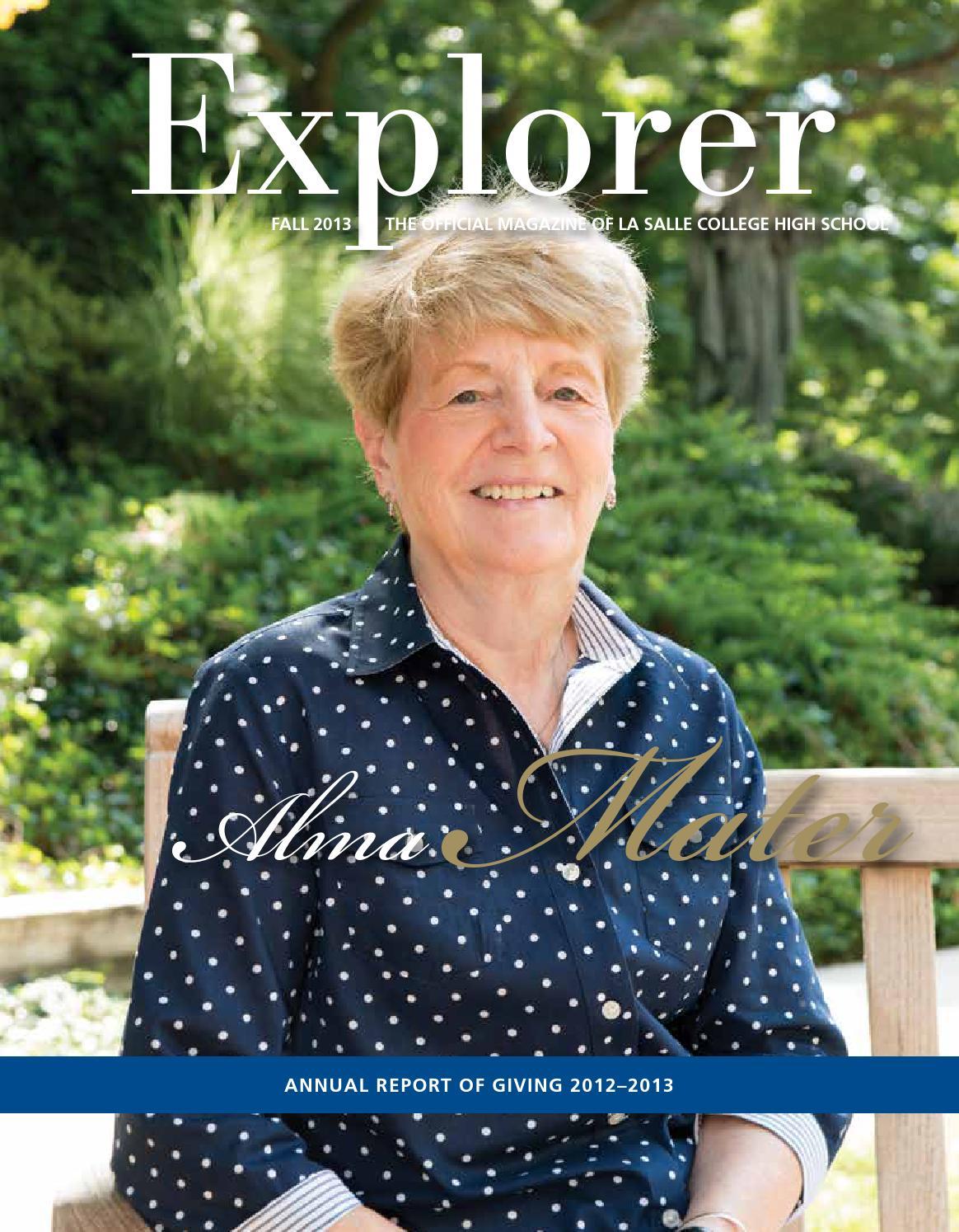 explorer magazine autumn by la salle college high school issuu