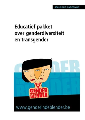 Gender in de Blender : educatief pakket over genderdiversiteit en transgender