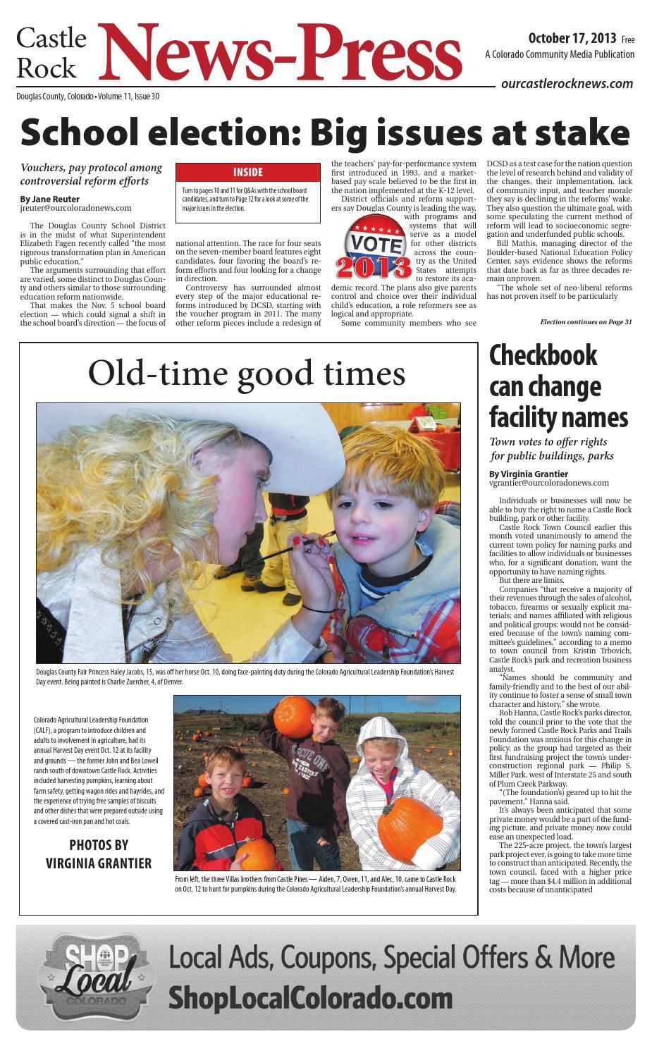 castle rock news press 1017 by colorado community media issuu