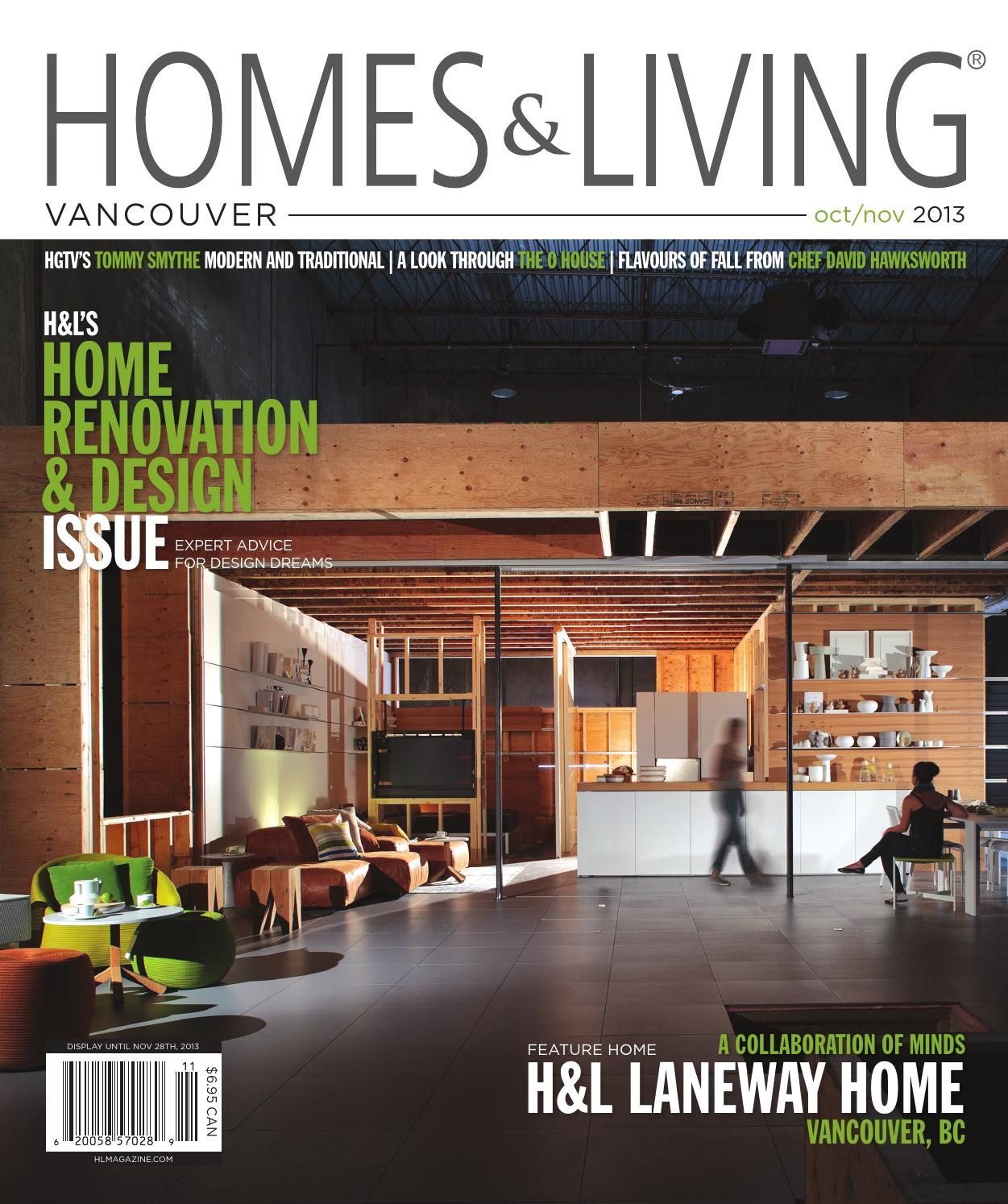 Homes Living Vancouver Oct Nov 2013 Issue By Homes