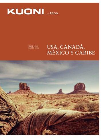 Kuoni Catálogo Usa Canadá, Mexico y Caribe