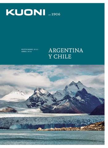 Kuoni Catálogo Argentina y Chile