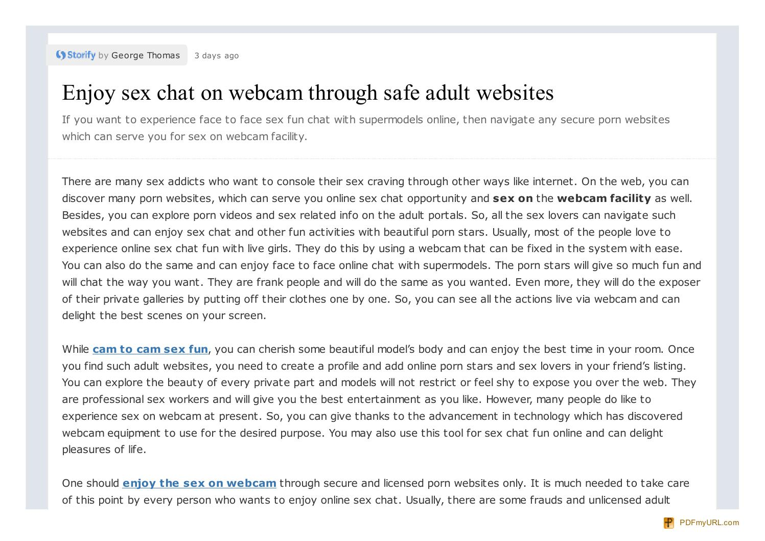 Safest adult sites