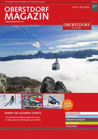 Oberstdorf Magazin 11/2013