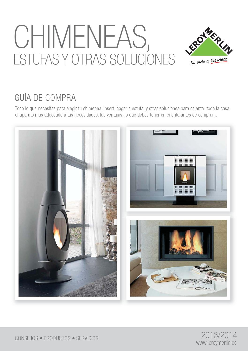 Chimeneas leroy merlin by issuu - Leroy merlin chimeneas ...
