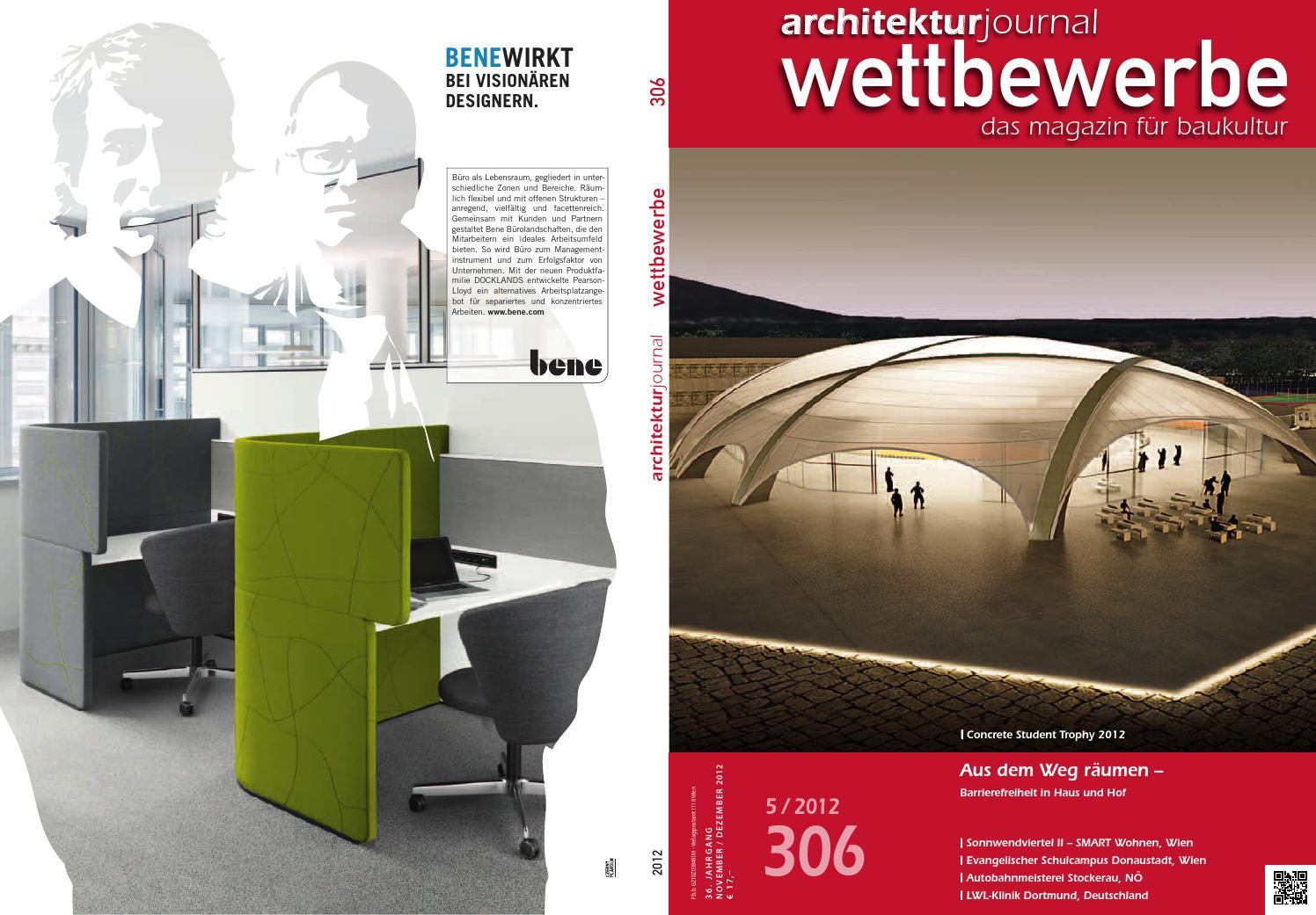 5 / 2012 (306) Nov/Dez 2012 by Architekturjournal wettbewerbe - issuu