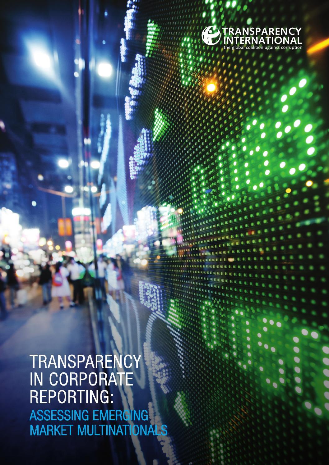 Transparency (behavior)