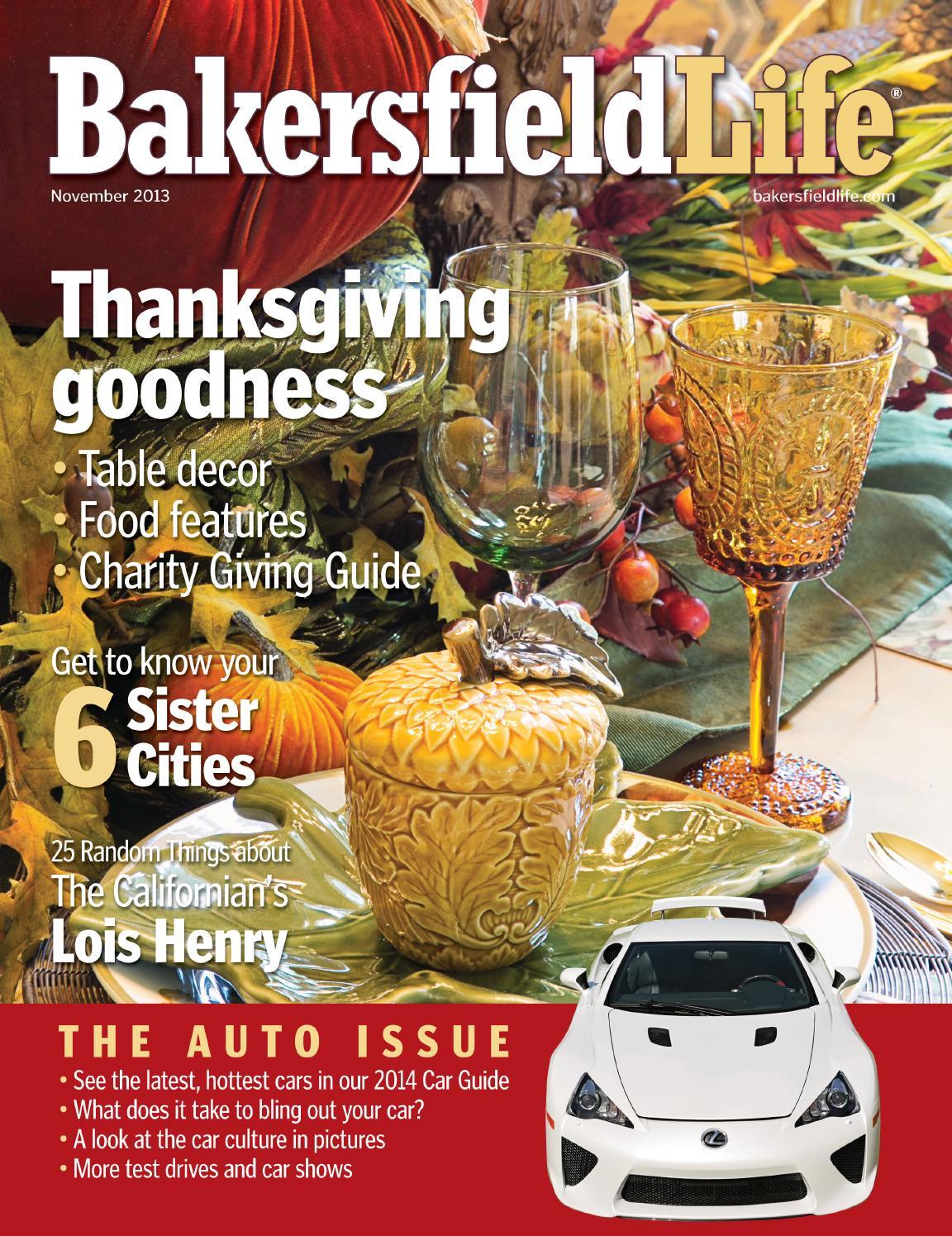 Bakersfield Life Magazine November 2013 By Tbc Media