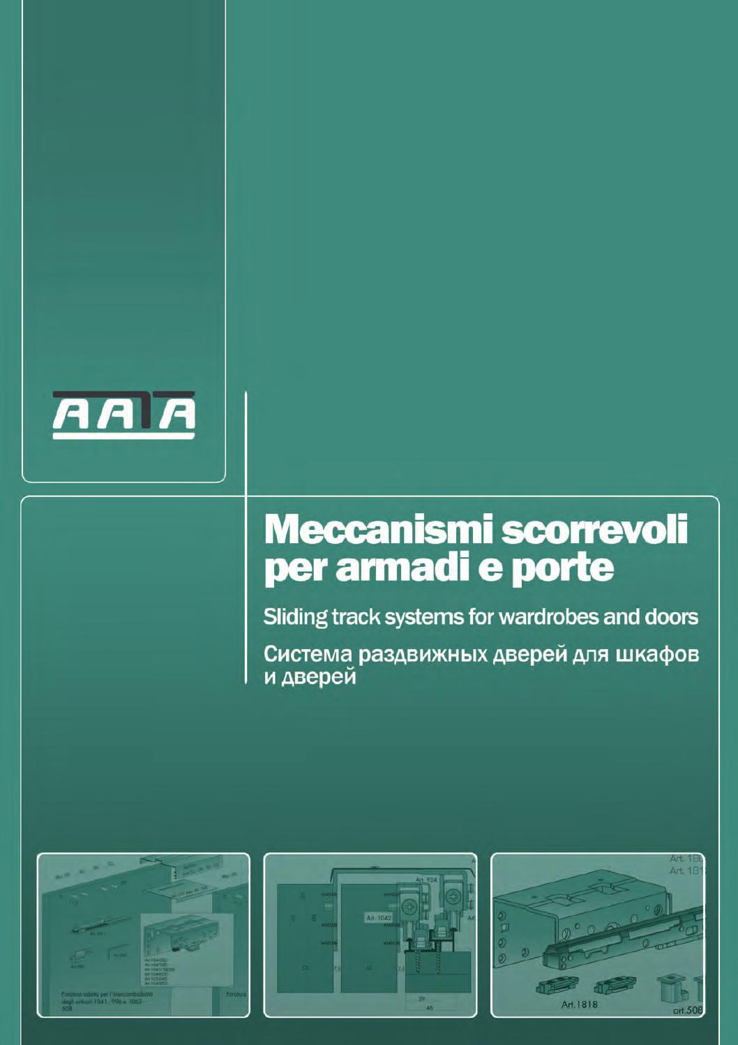 Aata scorrevoli web by Fabrizio De Maria Fbdm - issuu