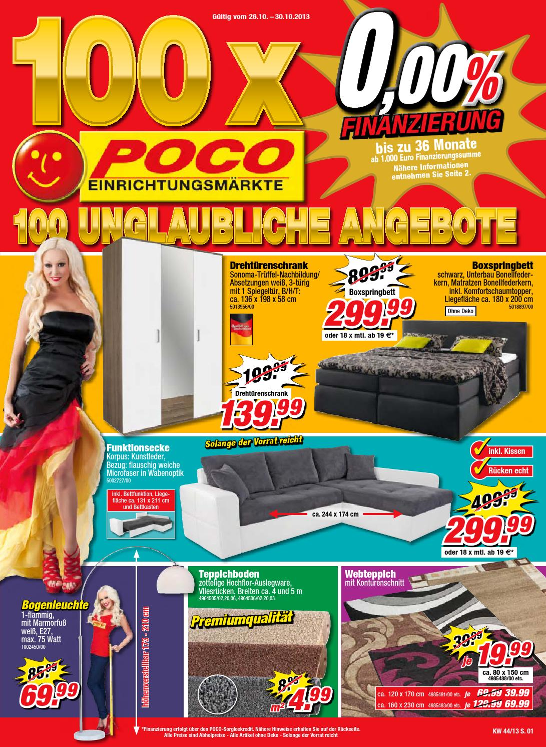 poco katalog g ltig bis 30 10 by broshuri issuu. Black Bedroom Furniture Sets. Home Design Ideas