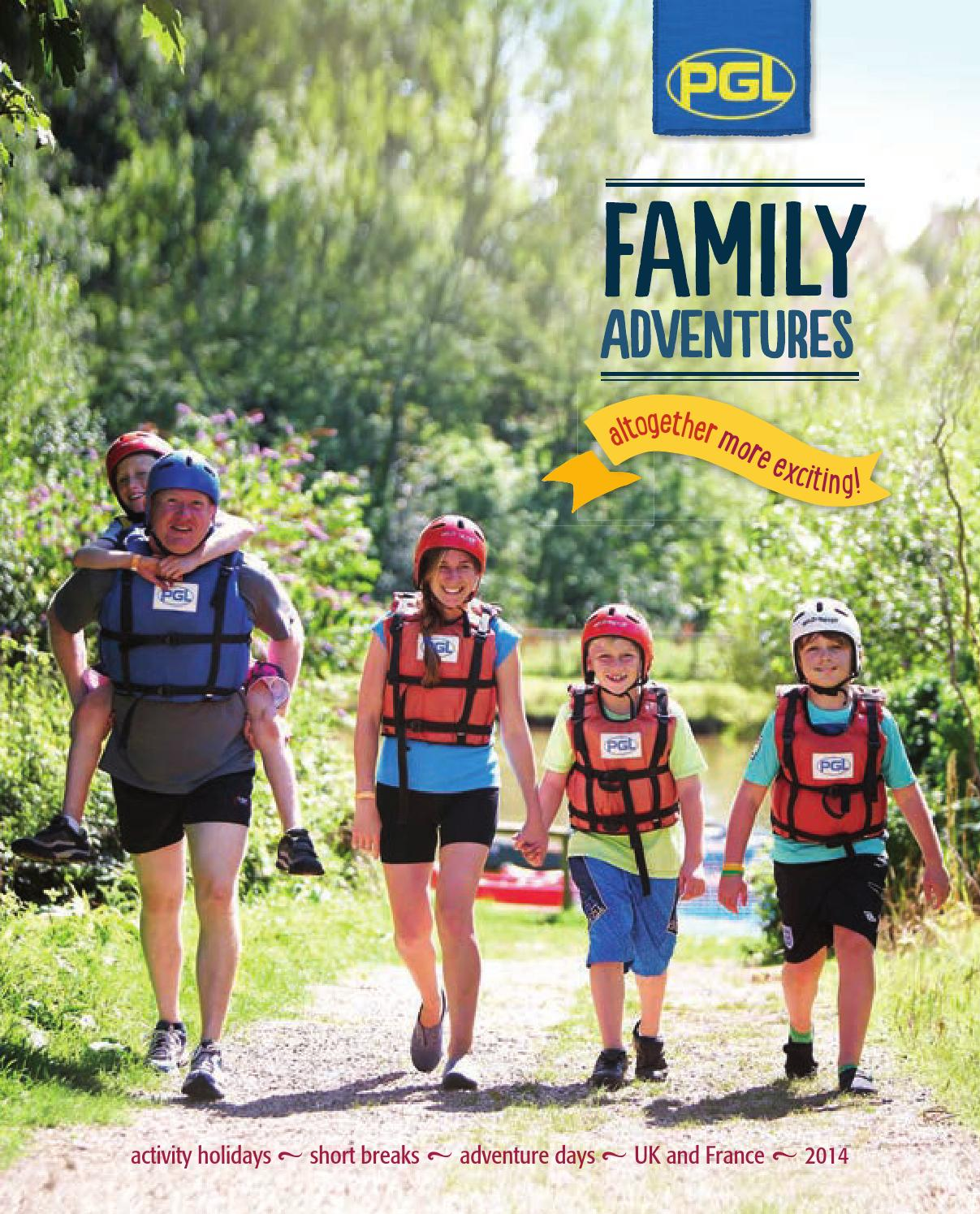 PGL Family Adventures 2014 Brochure by PGL Holidays  issuu