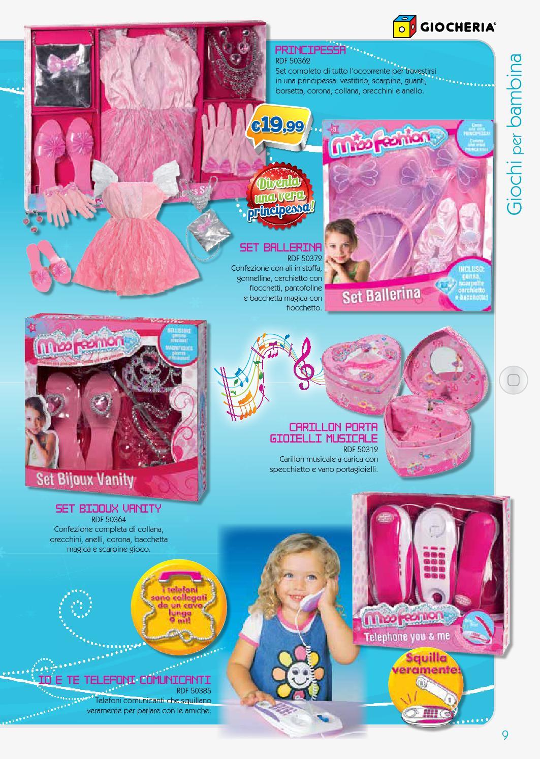 Giocheria giochi bambina natale 2013 by giocheria page 2 - Carillon portagioie bambina ...