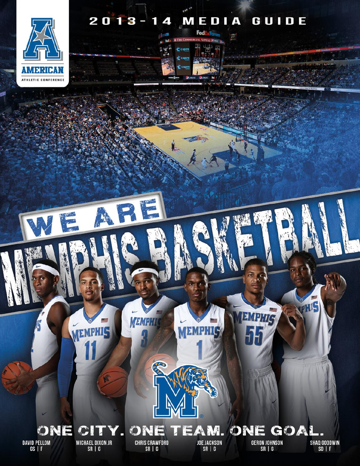 2013-14 Memphis Tigers Men's Basketball Media Guide by ...