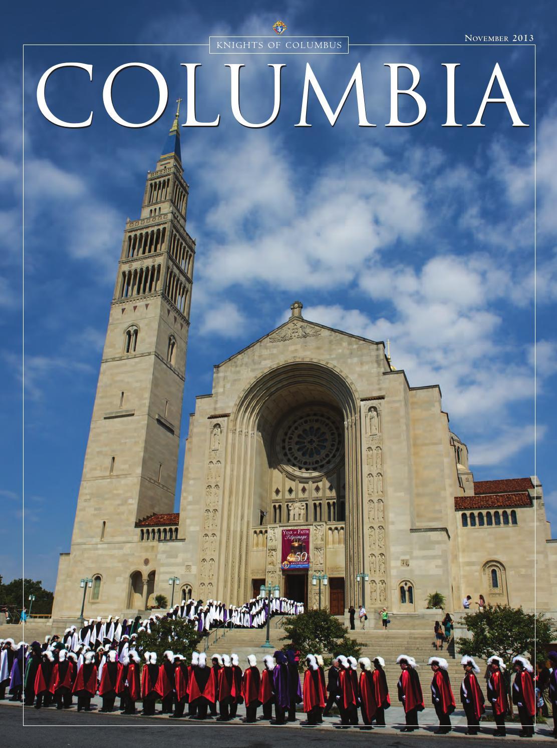 Columbia November 2013 By Columbia Magazine Issuu