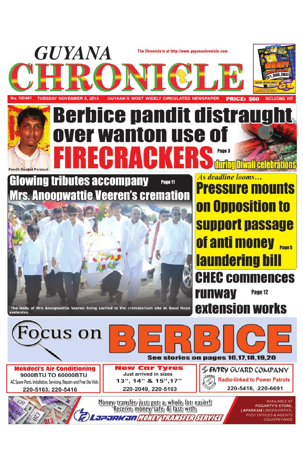 Guyana chronicle 05 11...