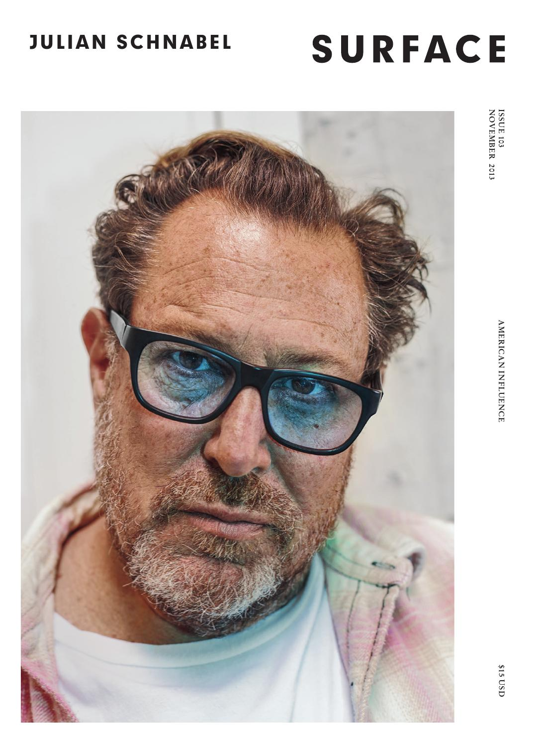Surface Julian Schnabel November 2013 By Surfacemag