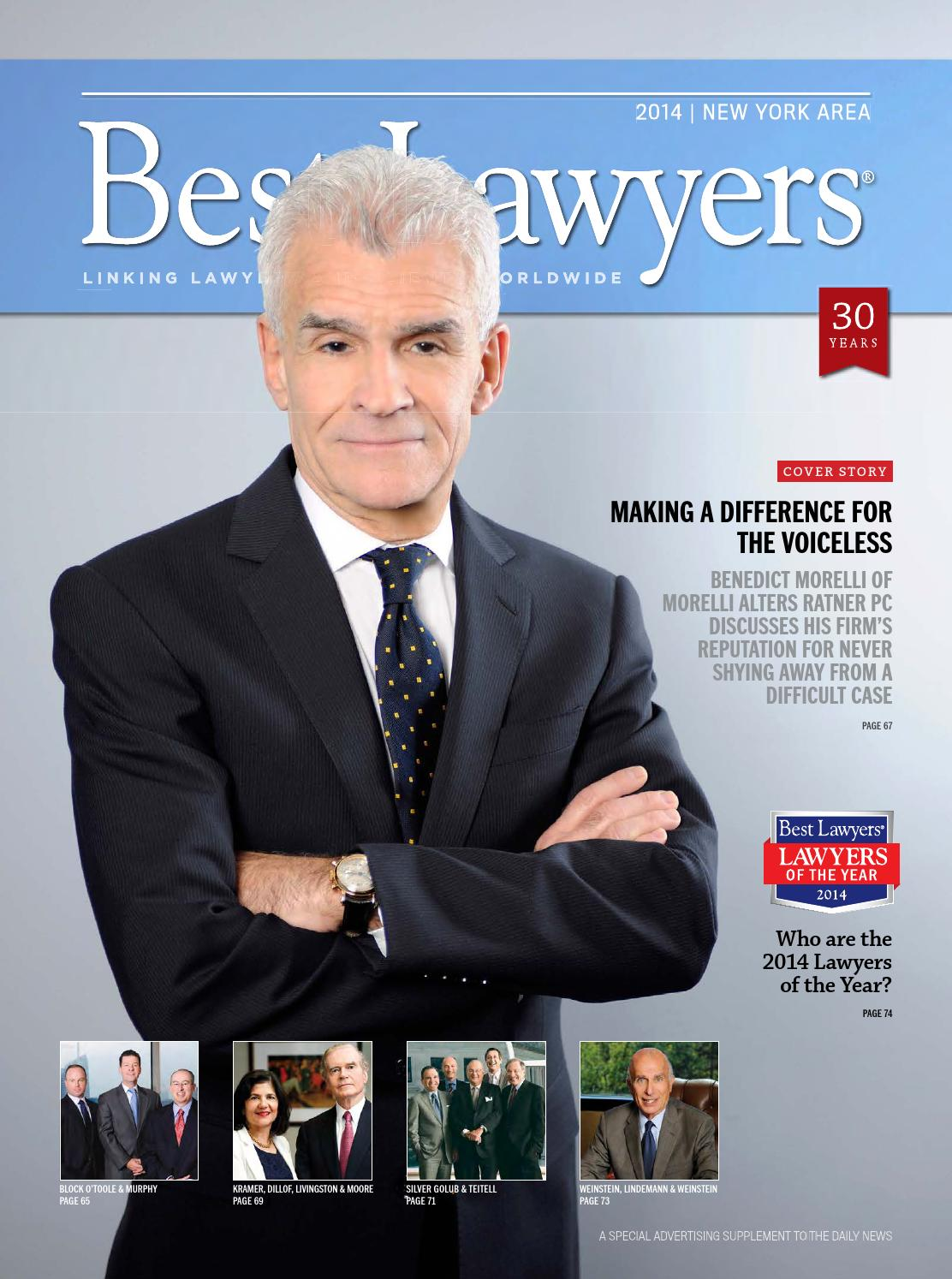 New York's Best Lawyers 2014 by Best Lawyers - issuu