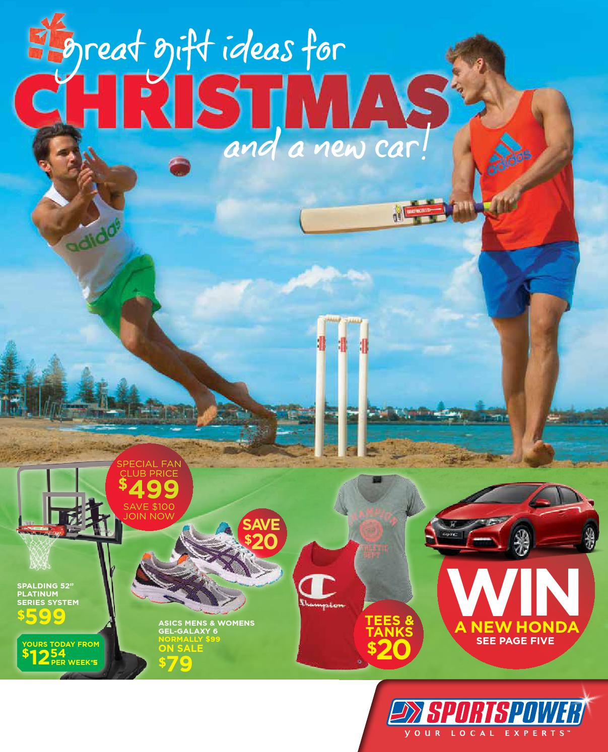 Sportspower - Christmas by Associated Retailers Ltd - issuu