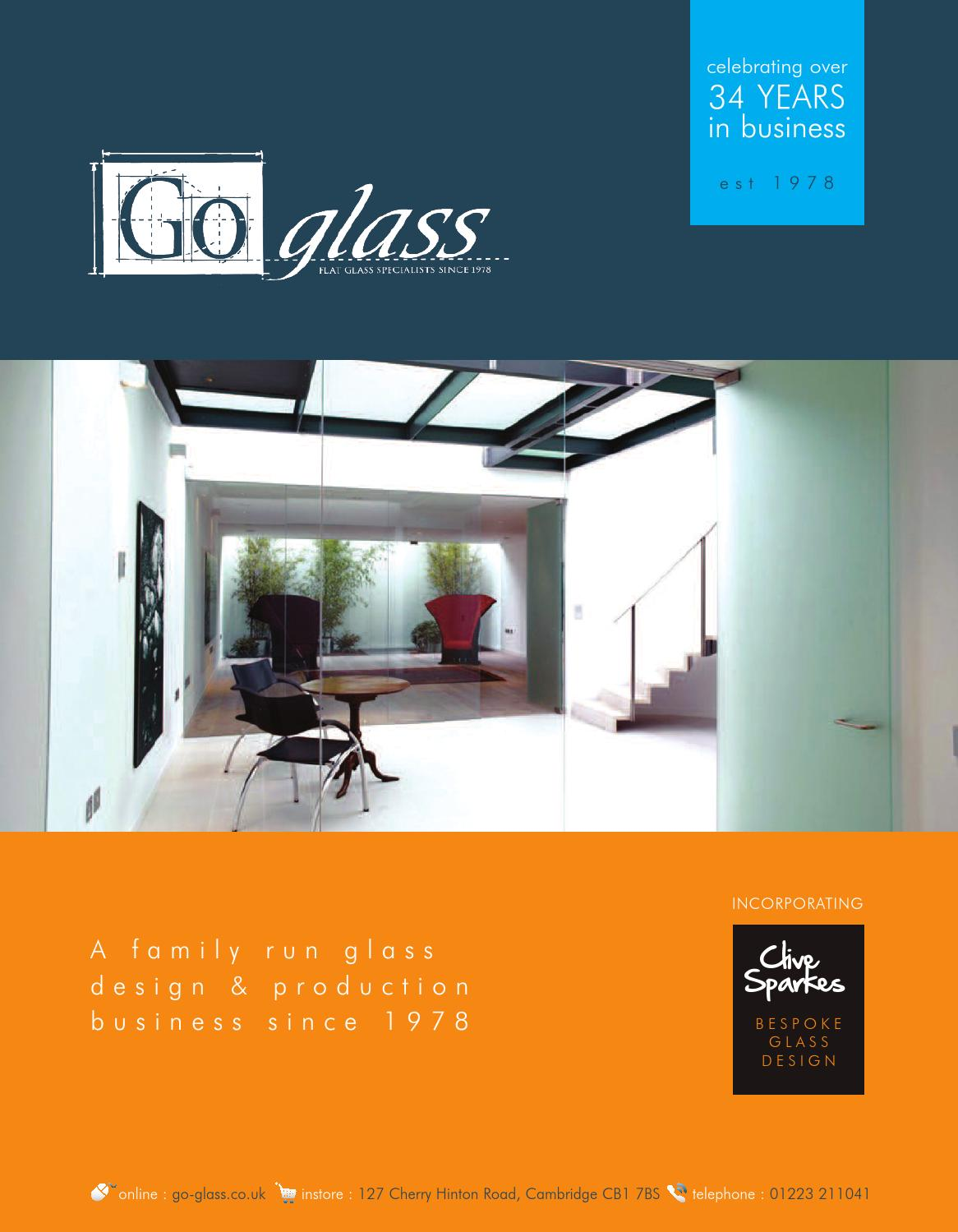 go glass company product brochure by go glass issuu. Black Bedroom Furniture Sets. Home Design Ideas