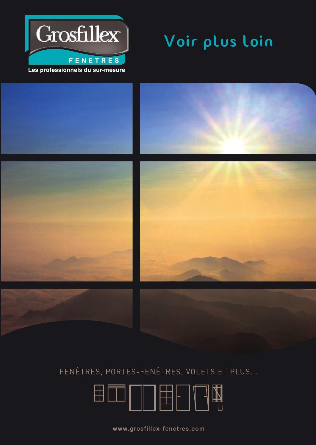 Catalogue grosfillex by clich s sportifs impression sur for Catalogue fenetre pvc